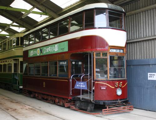 Edinburgh Corporation Tramways  35 built 1948