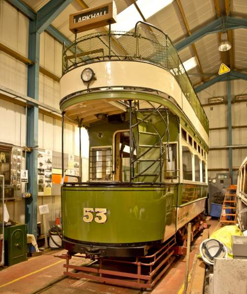 Lanarkshire Tramways Co  53 built 1908