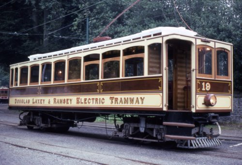Manx Electric Railway  19 built 1899