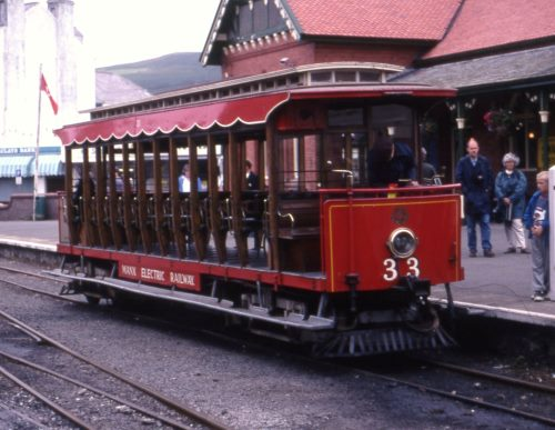 Manx Electric Railway  33 built 1906