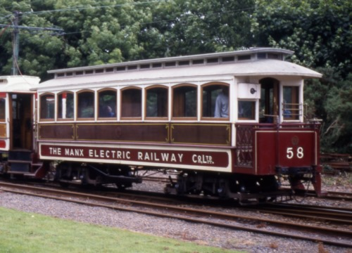 Manx Electric Railway  58 built 1904