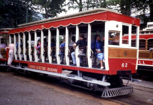 Manx Electric Railway  62 built 1906
