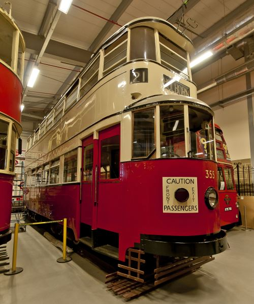 Metropolitan Electric Tramways  355 built 1931