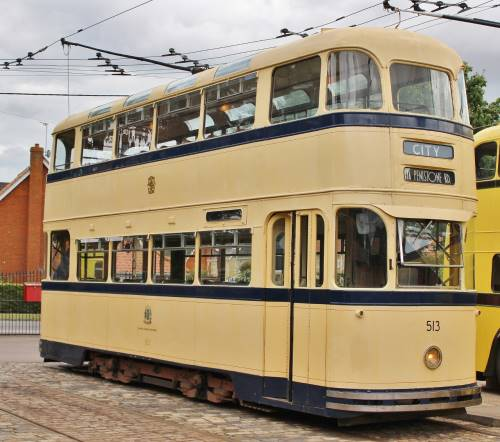 Sheffield Corporation Tramways  513 built 1950
