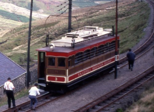 Snaefell Mountain Railway  3 built 1895