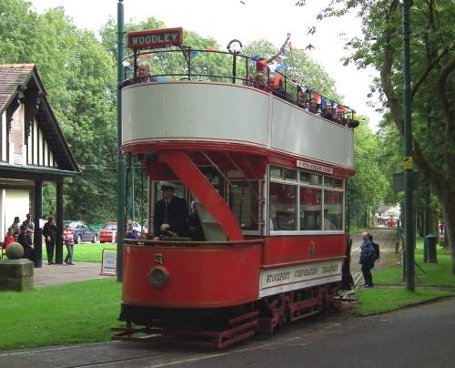 Stockport Corporation Tramways  5 built 1901