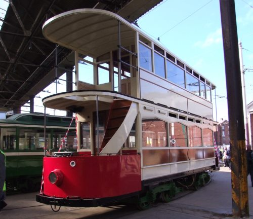 Blackpool Corporation Tramways  143 built 1924