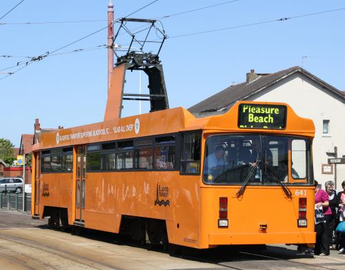 Blackpool Corporation Tramways  641 built 1984