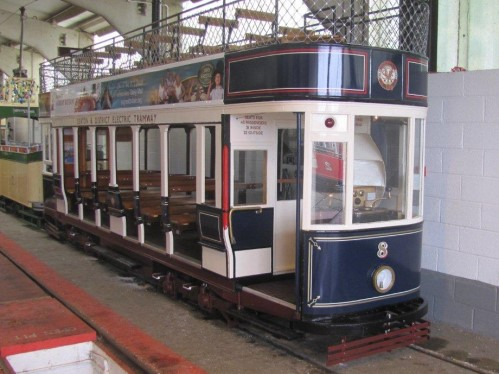 Seaton & District ElectricTramway  8 built 1968