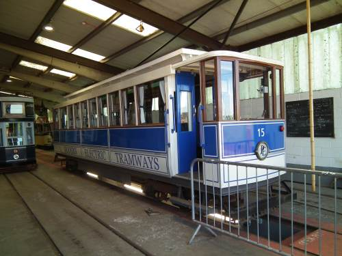 Seaton & District ElectricTramway  15 built 1988