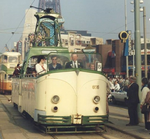 Blackpool Corporation Tramways  606 built 1934