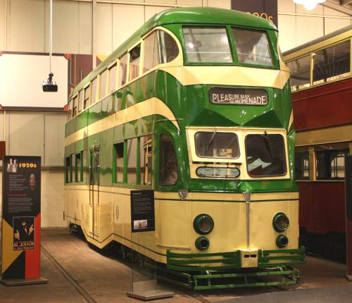 Blackpool Corporation Tramways  249 built 1934