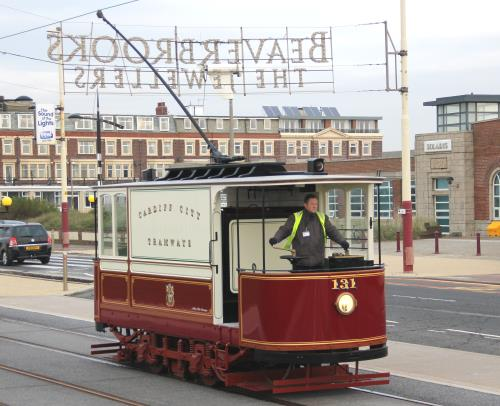 Cardiff Corporation Tramways  131 built 1902